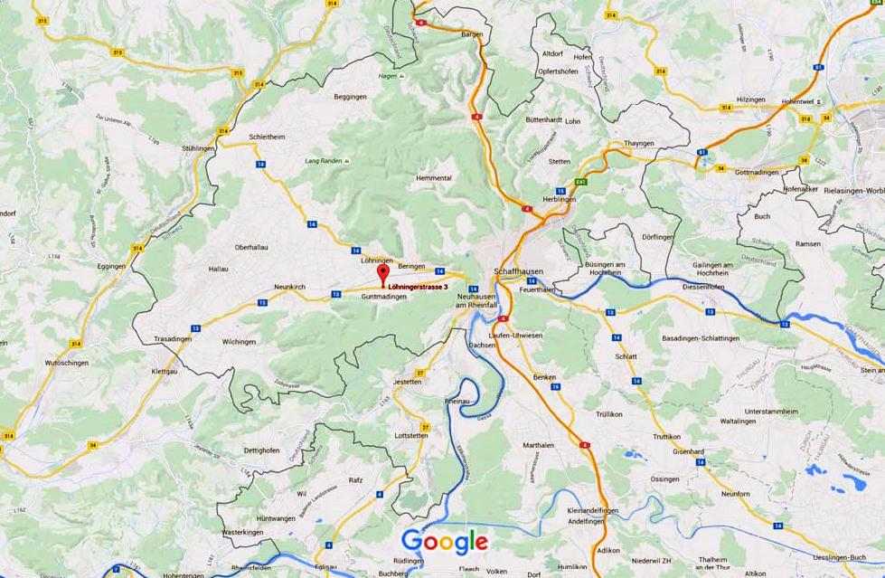 Maps Ausschnitt